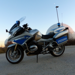 BMW police motorcycle