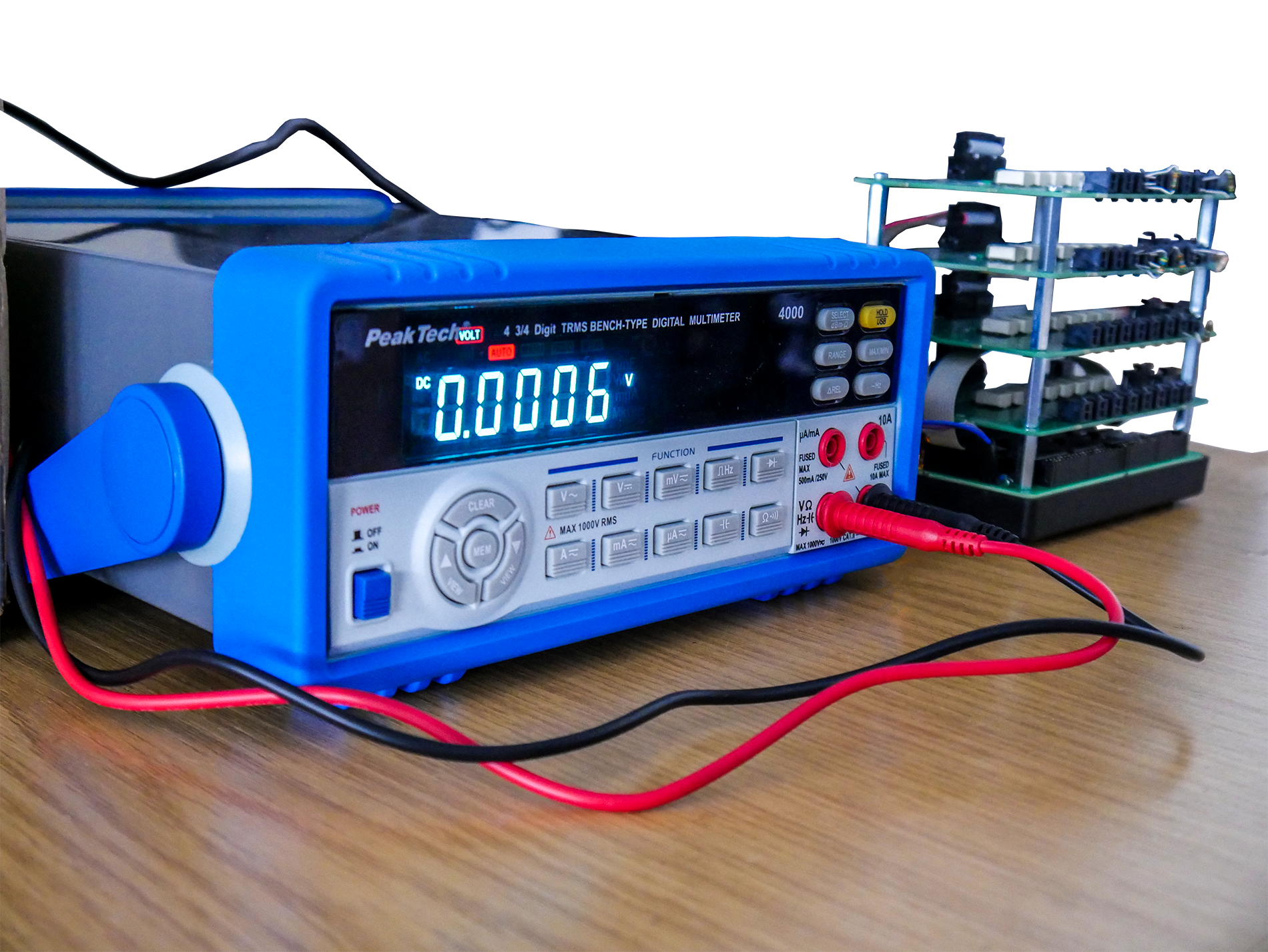 Voltmeter in Protoyping