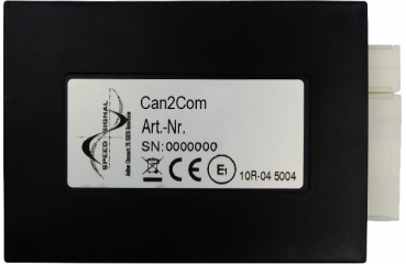 CAN2Com interface